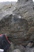 Rock Climbing Photo: Who knows this problem? It's in Area A, close to P...
