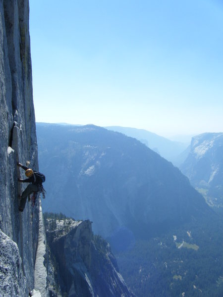 Rock Climbing Photo: JA Hero Climbing on P17.