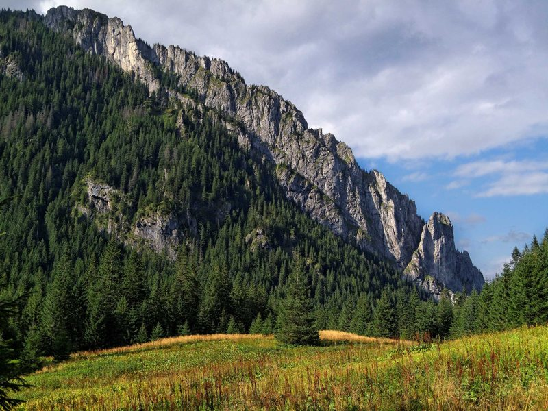 Rock Climbing Photo: Raptawickie Turnie. Koscieliska Valley. Polish Tat...
