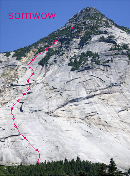 Rock Climbing Photo: SOMWOW TOPO