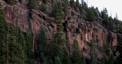 Rock Climbing Photo: Lower Solitude as seen from the trail to Higher So...