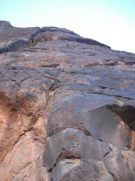 Rock Climbing Photo: What was I thinking