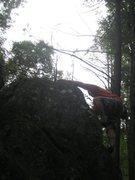 Rock Climbing Photo: topping 2