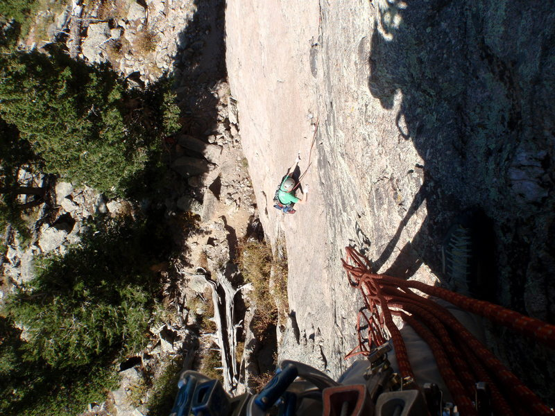 Looking down at the 5.8 slab start with little to no good pro on it.
