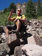 Rock Climbing Photo: live long and prosper.