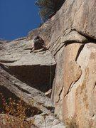 Rock Climbing Photo: Destination' Planet Claire.