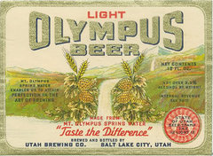 """Rock Climbing Photo: Olympus Beer 1936  """"Taste the Difference&quot..."""