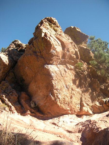 Rock Climbing Photo: Corner Rock.