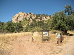 Rock Climbing Photo: Mount Sanitas.