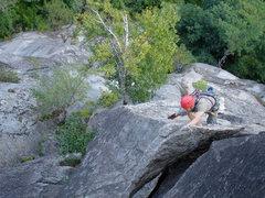 Rock Climbing Photo: Beast flake awesomeness
