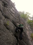 Rock Climbing Photo: Boysen!