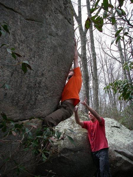 Rock Climbing Photo: Brian Cowles on Deception.