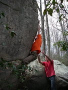 Rock Climbing Photo: Brian Cowles on Deception.