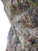 Rock Climbing Photo: looking up the steep granite for apes to play