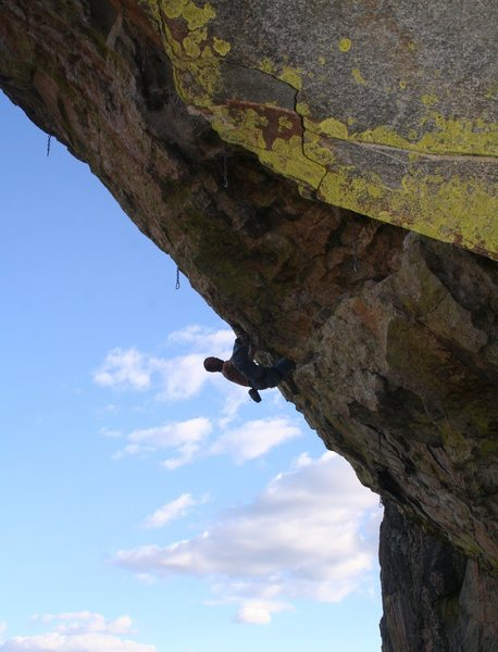 Rock Climbing Photo: on the second crux