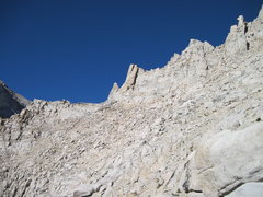 "Rock Climbing Photo: ""L Shaped Pass"" is the flat area to the ..."