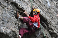 Rock Climbing Photo: Some sweet route in Skagway, Alaska. probabley a 5...