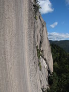 Rock Climbing Photo: Section of the Main Wall at Green's Cliff