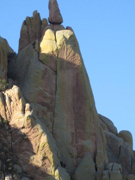 Rock Climbing Photo: Tombstone Crack