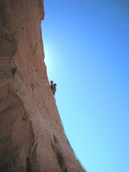 Lance higher on the 5.8+R pitch
