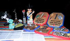 Rock Climbing Photo: Prizes for the Backyard Bouldering Comp 2010!!!
