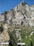 Rock Climbing Photo: Approach beta pic.