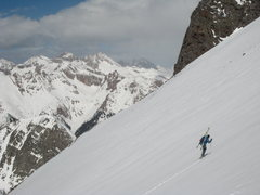 Rock Climbing Photo: j. mankins on mt. oso's south face