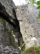 Rock Climbing Photo: This is the other option to this boxed in section....