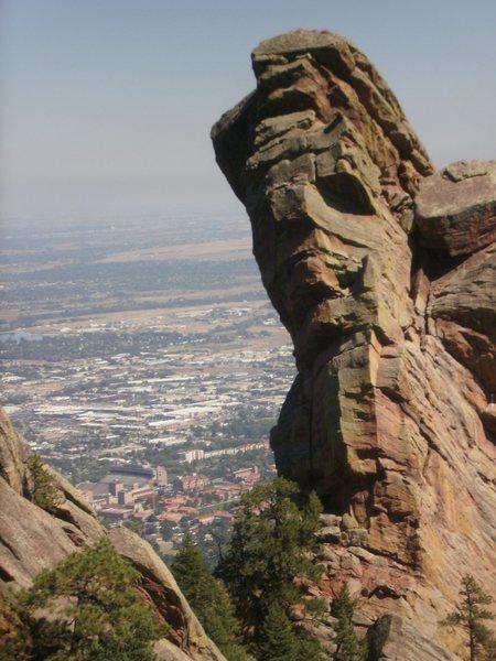 Rock Climbing Photo: West Face.