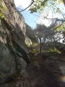 Rock Climbing Photo: Start of Good Heavens