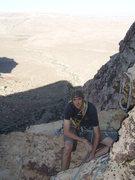 Rock Climbing Photo: Belay at Pitch 5.