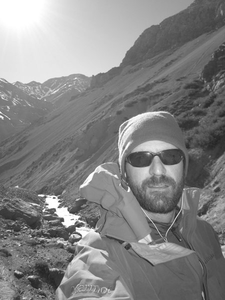 approach to Aconcagua basecamp