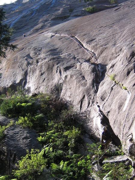 Rock Climbing Photo: P1/2 Star Wars