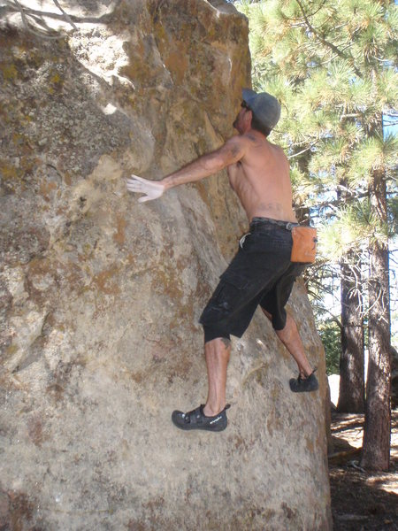 Davi Rivas on Blemish of the Soul, Picnic Area, Pine Mtn.
