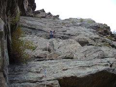 Rock Climbing Photo: More fun than working.
