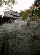 Rock Climbing Photo: Rhoads does the Grand Illusion Double Direct varia...