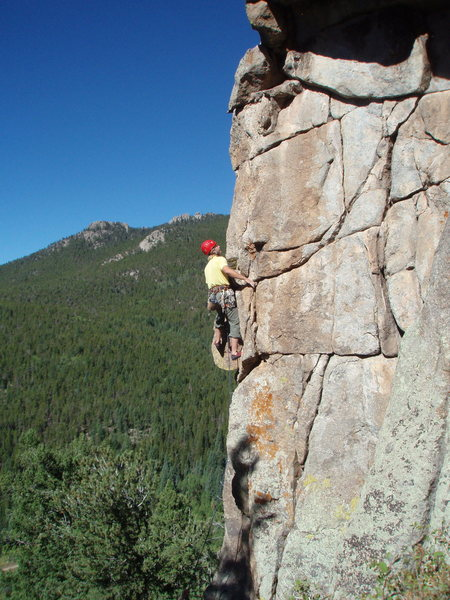 """Rock Climbing Photo: """"Jugs Out For The Lads"""", an enjoyable ro..."""