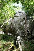 Rock Climbing Photo: Psoriasis Topo