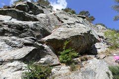 Rock Climbing Photo: The Rut Topo