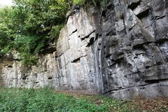 Rock Climbing Photo: The main Face of Wolfcrag