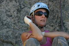 Rock Climbing Photo: Shanay
