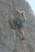 Rock Climbing Photo: Albert on Extinction 5.11b.