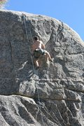 Rock Climbing Photo: Jeff on Extinction 5.11b.