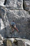 Rock Climbing Photo: Kenn on Sprockets 5.10c.