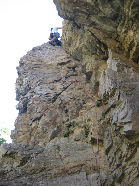 Rock Climbing Photo: Me on George Direct.