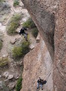 Rock Climbing Photo: I forgot that this route was never on my warm up c...