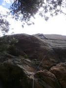 Rock Climbing Photo: Pebble pinching....