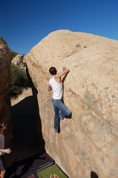 Bouldering at Lizard's Mouth