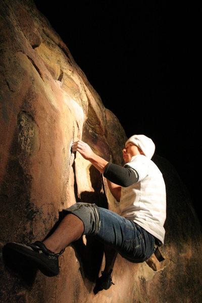 Pine Mountain bouldering