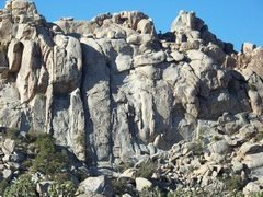 Rock Climbing Photo: Hemmingway Butress, J-Tree